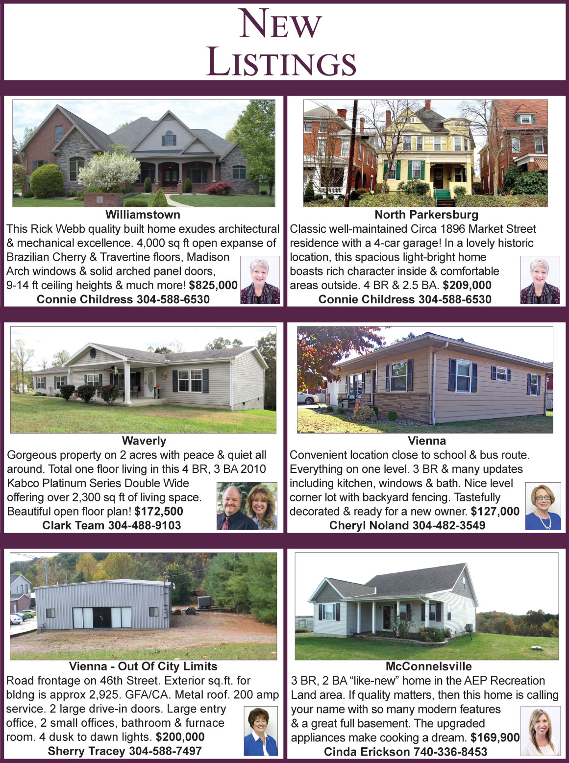New Listings | Mid Ohio Valley | Berkshire Hathaway HomeServices